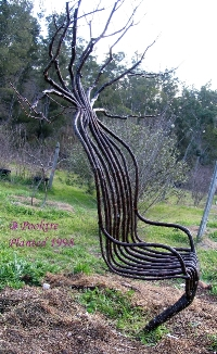 grown living garden chair